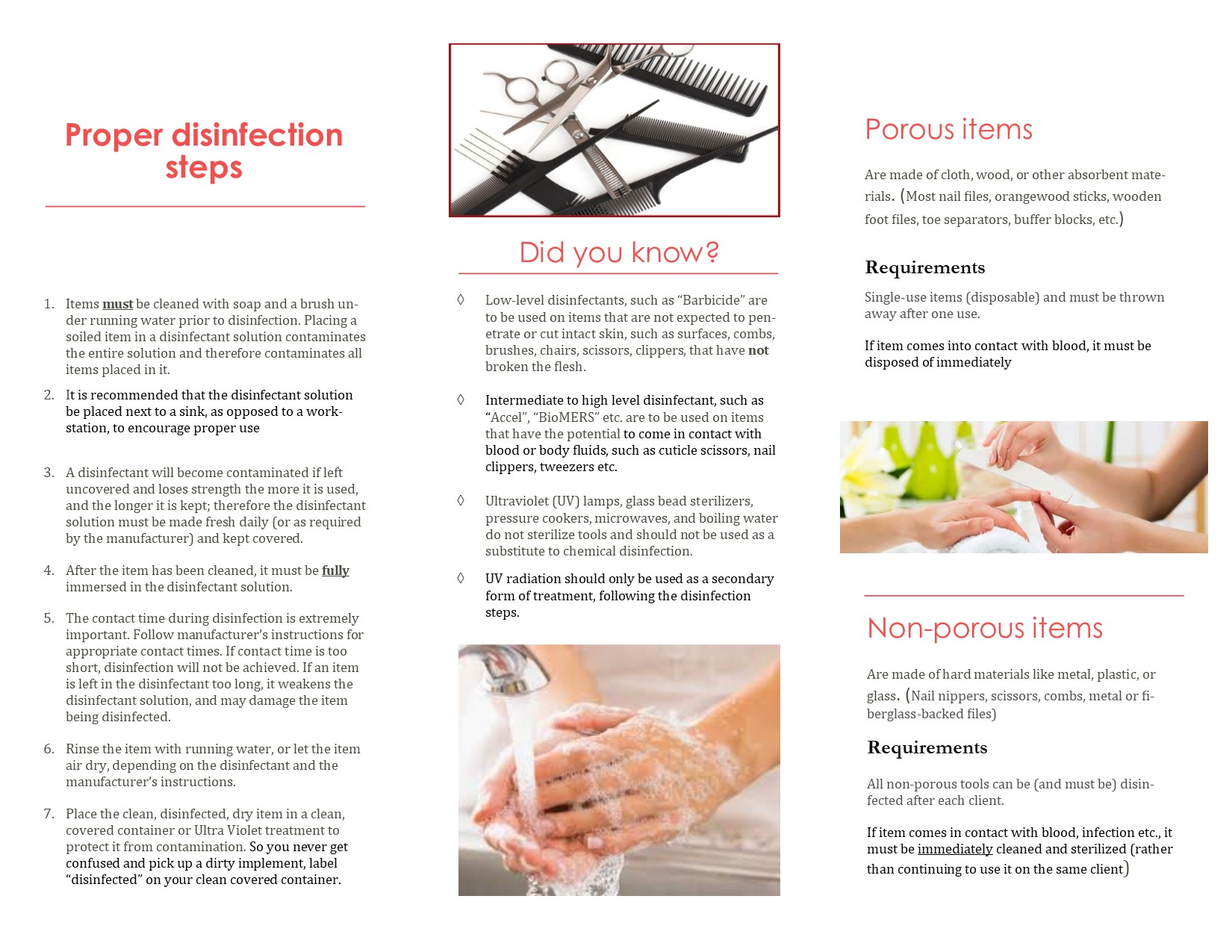 Disinfection brochure ENG
